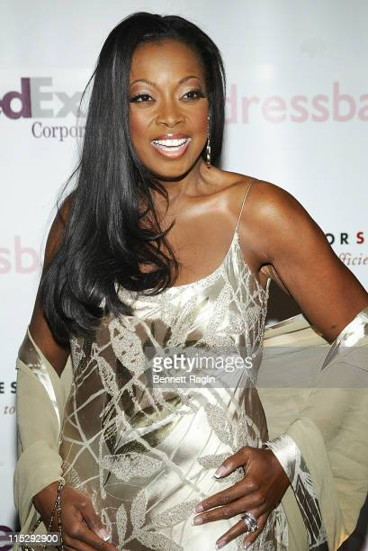 Star Jones during 'Dress for Success' Honors Star Jones April 3 2006 at Marriott Marquis Hotel in New York City New York United States