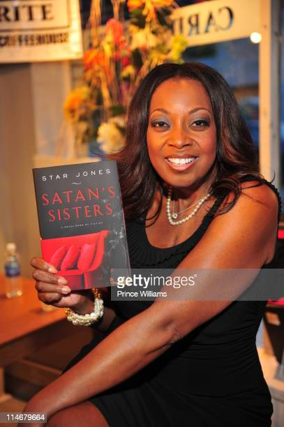 Star Jones promotes the new book 'Satan's Sisters A Novel Work of Fiction' at Outwrite Bookstore on May 24 2011 in Atlanta Georgia