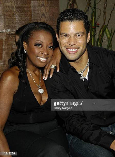 Star Jones Reynolds and Al Reynolds during Cain Celebrates its 1st Anniversary at Cain in New York City New York United States