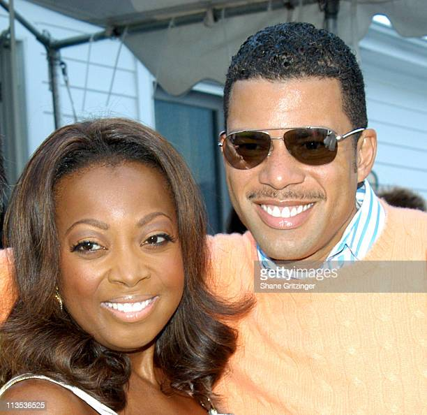 Star Jones Reynolds and Al Reynolds during Haley and Jason Binn 5th Annual Memorial Day Party at Private Residence of Haley and Jason Binn in...
