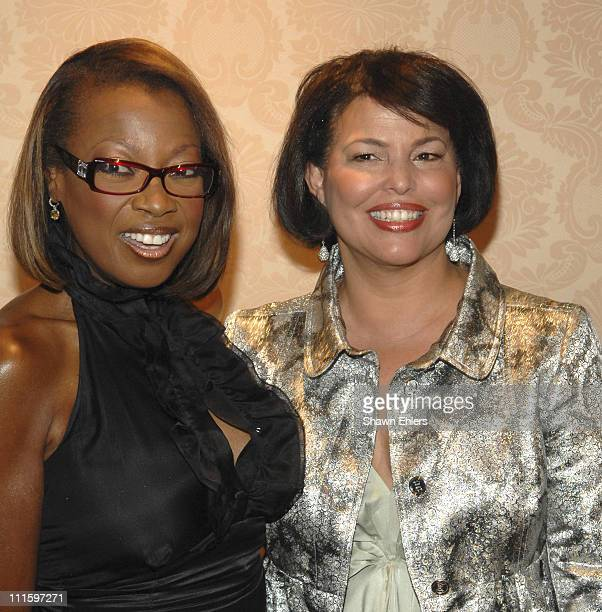 Star Jones Reynolds and Debra L. Lee during The Museum of Modern Image Honors Matt Lauer and Debra L. Lee at The St. Regis in New York City, New...