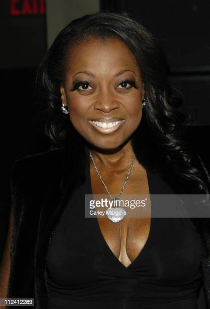 Star Jones Reynolds during Cain Celebrates its 1st Anniversary at Cain in New York City New York United States