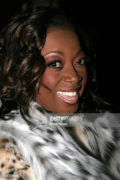Star Jones Reynolds during Sarah Jones' Bridge and Tunnel Broadway Opening Night Arrivals at Helen Hayes Theatre in New York City New York United...