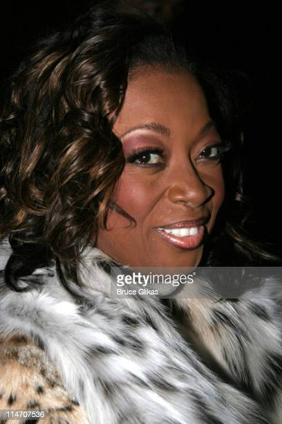 Star Jones Reynolds during Sarah Jones' 'Bridge and Tunnel' Broadway Opening Night Arrivals at Helen Hayes Theatre in New York City New York United...
