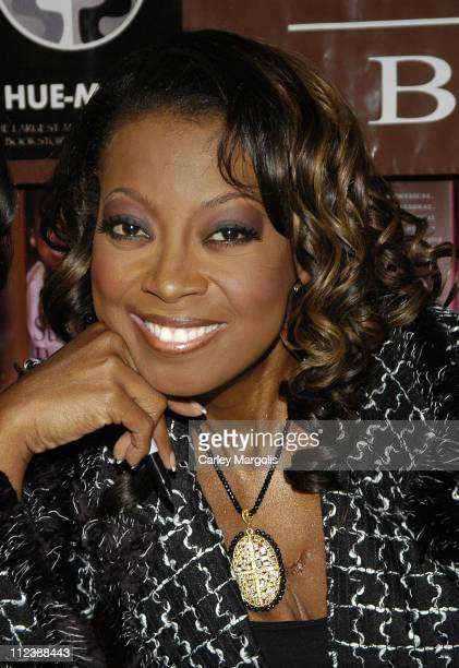 Star Jones Reynolds during Star Jones Reynolds Signs Her Book 'Shine' at HueMan Bookstore in New York City January 7 2006 at HueMan Bookstore in New...