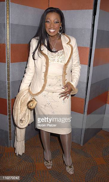 Star Jones Reynolds during The 3rd Annual Authors In Kind Luncheon Benefiting God's Love We Deliver Inside Arrivals at The Rainbow Room in New York...