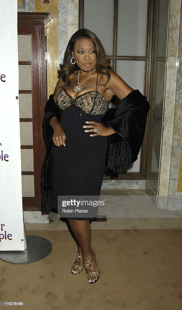 Star Jones Reynolds during 'The Color Purple' Broadway Opening Night - After Party at The New York Public Library in New York City, New York, United States.