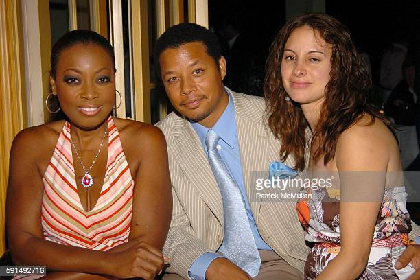 Star JonesReynolds Terrence Howard and Lori Howard attend Hamptons Film Festival and Elle Magazine present a special screening of Hustle Flow at...