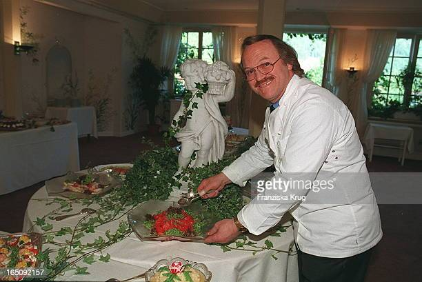Star Koch Heinz Winkler Hochzeit Rainer Wenz und Anke Doublon