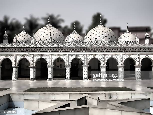 star mosque - dhaka stock pictures, royalty-free photos & images