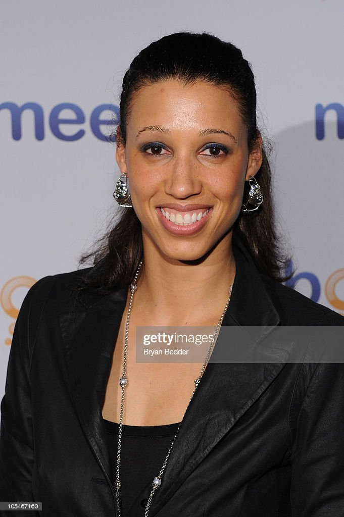 WNBA star Nicole Powell attends Meebo's Celebration of Five Years Of Helping People Share And Connect at Amnesia NYC on October 14, 2010 in New York, New York.
