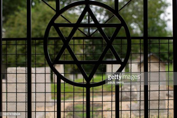 star of david - synagogue stock photos and pictures