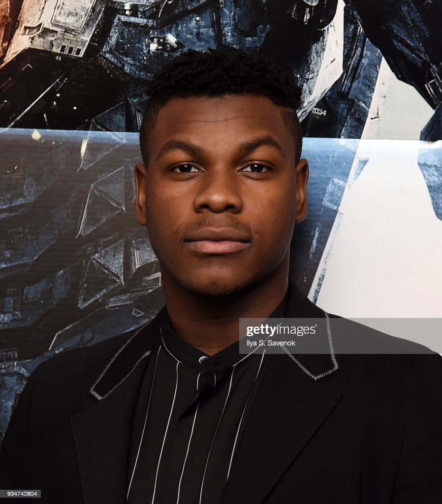 Star Of PACIFIC RIM: UPRISING, John Boyega, Attends Special Screening And Q+A Moderated By Jamie Broadnax, In Partnership With Black Girl Nerds On Monday, March 19