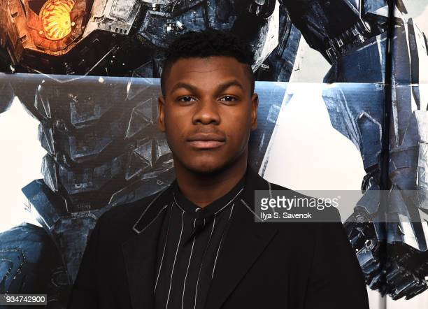 Star Of PACIFIC RIM UPRISING John Boyega attends special screening and QA Moderated By Jamie Broadnax In Partnership With Black Girl Nerds On Monday...
