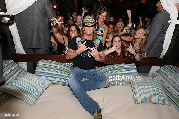 Star of Rock the Love and former lead singer from the 80's hair band Poison Bret Michaels hosts an after party at The Pool at Harrah's Atlantic City...
