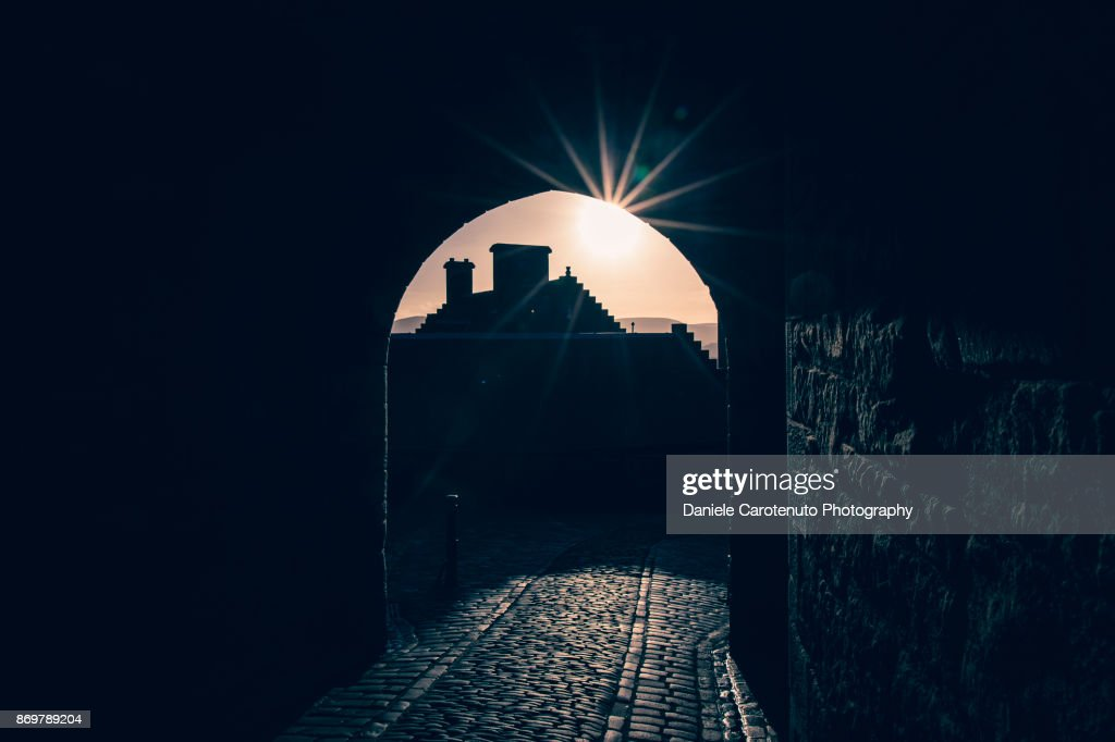 Star of the castle : Stock Photo