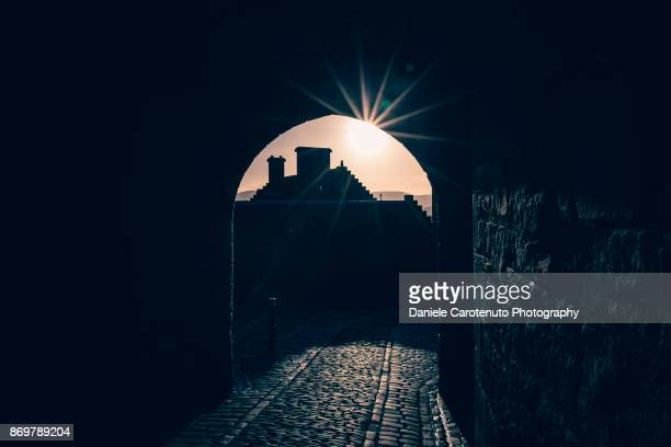star of the castle - daniele carotenuto stock pictures, royalty-free photos & images