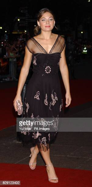 Star of the film Alexa Davalos arrives for the premiere of The Chronicles Of Riddick at the Vue West End in Leicester Square central London