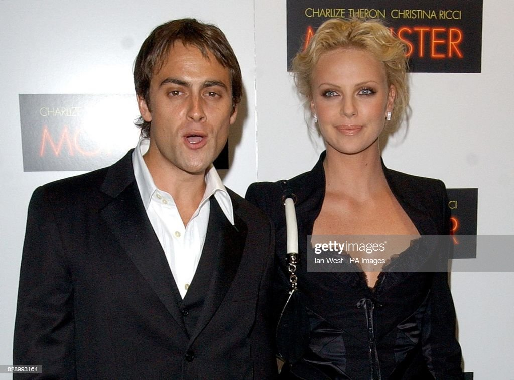 Star of the film Charlize Theron and her boyfriend Stuart ...