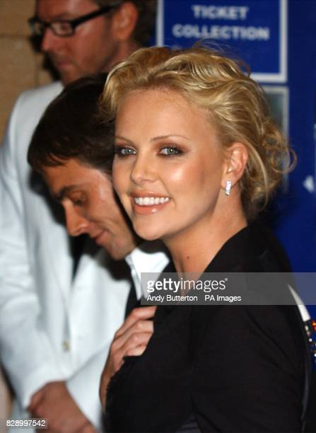 Star of the film Charlize Theron arrives for the UK premiere of Monster at the Vue cinema in Leicester Square central London Monster tells the story...
