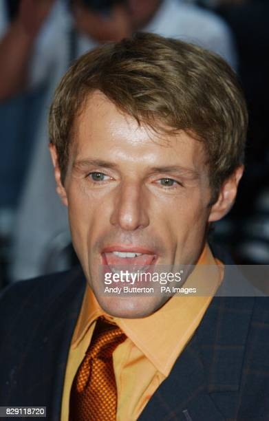 Star of the film Lambert Wilson arrives for the European premiere of Catwoman at the Vue cinema in Leicester Square central London