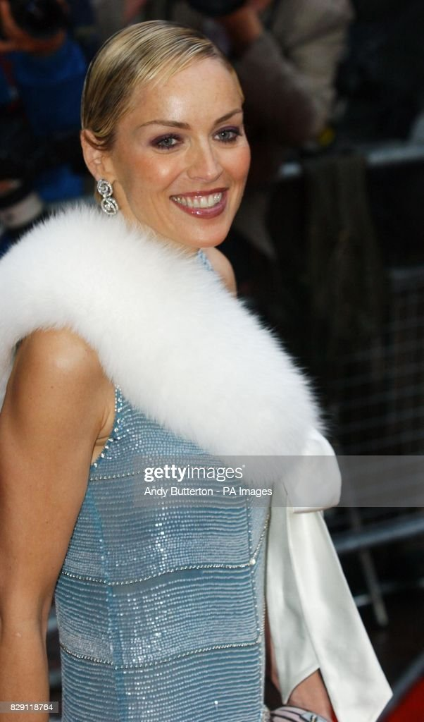 Star Of The Film Sharon Stone Arrives For The European Premiere Of