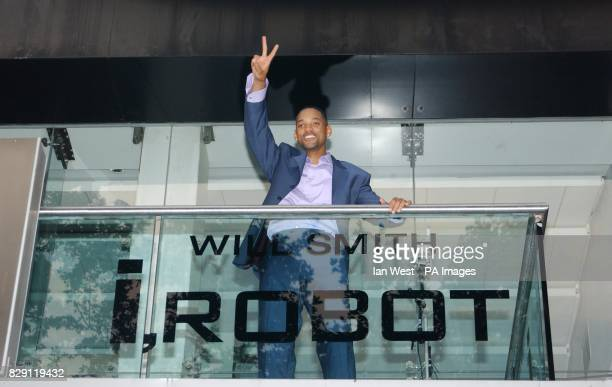 Star of the film Will Smith arrives for the UK premiere of I Robot at the Odeon Leicester Square in central London