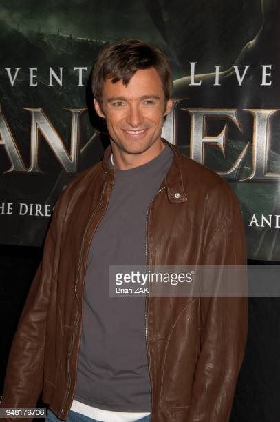 Star of Van Helsing Hugh Jackman at Madame Tussauds New York launching the terrifying new interactive experience Chamber Live featuring Van Helsing...