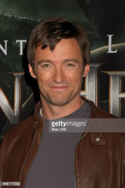 Star of 'Van Helsing' Hugh Jackman at Madame Tussauds New York launching the terrifying new interactive experience 'Chamber Live featuring Van...