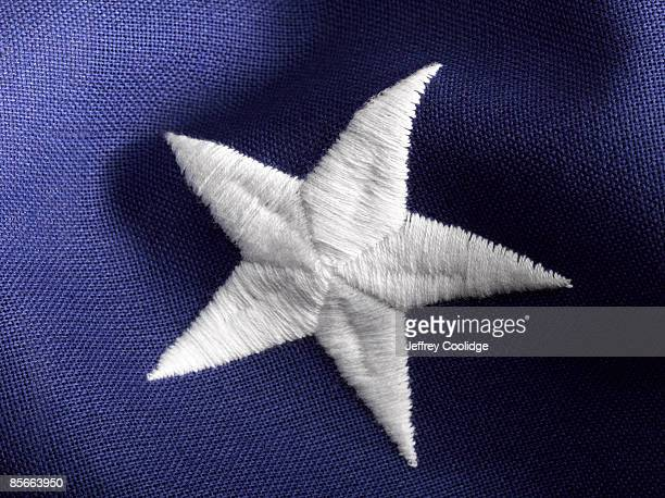 Star on American Flag