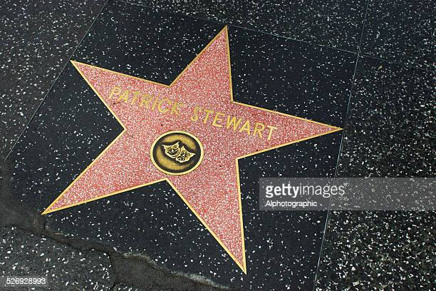 star on walk of fame - hollywood boulevard stock pictures, royalty-free photos & images