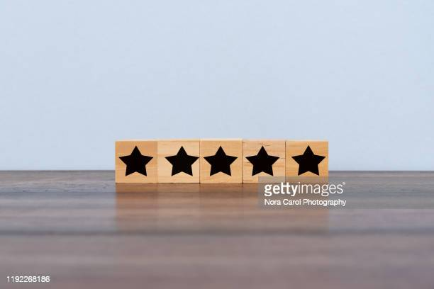 star rating - adulation stock pictures, royalty-free photos & images