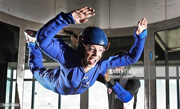 Star reporter Lauren Pelley goes up nearly 45 feet with instructor Gary Sweeney iFly is a relatively new indoor skydiving facility in Oakville The...