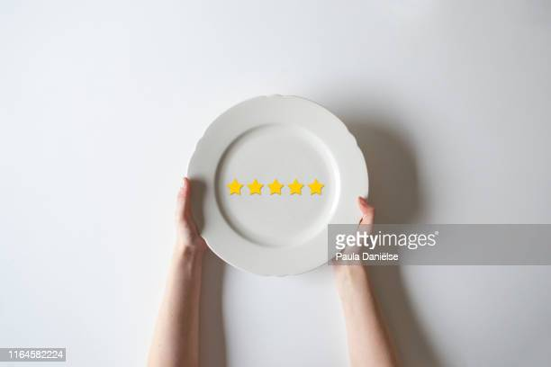 5 star review - 採点 ストックフォトと画像