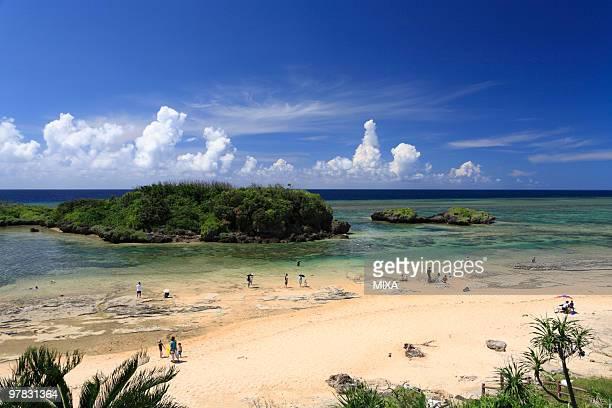 Star Sand Beach, Iriomote Island, Taketomi, Okinawa, Japan