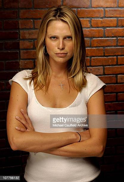 S star Sara Foster during CineVegas 2004 Portrait Studio Day 1 at The Palms Hotel in Las Vegas California United States