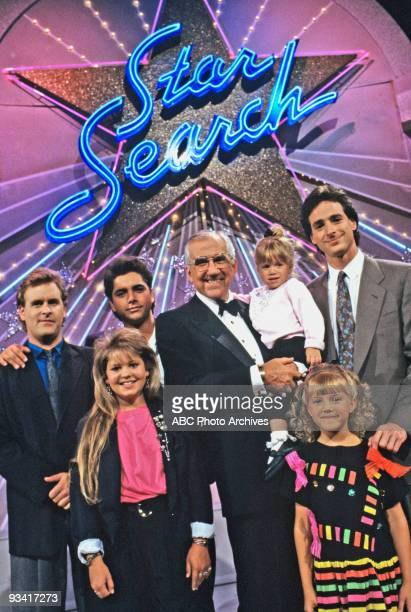 HOUSE 'Star Search' Season Three 11/3/89 Contestant Joey took DJ Jesse Michelle Stephanie and Danny to see 'Star Search' and host Ed McMahon