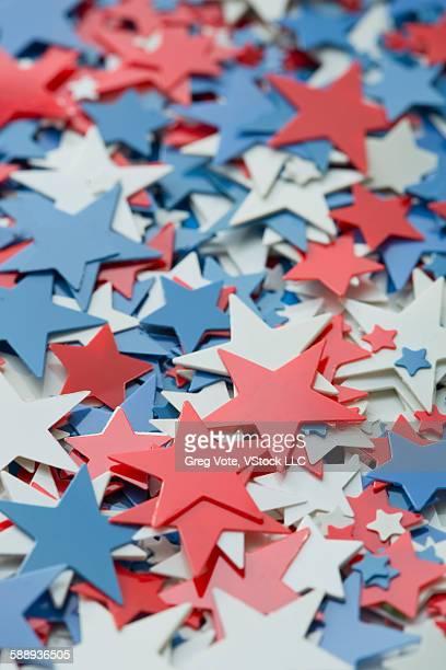 Star shaped confetti
