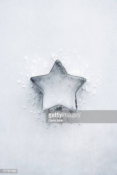 Star shaped pastry cutter