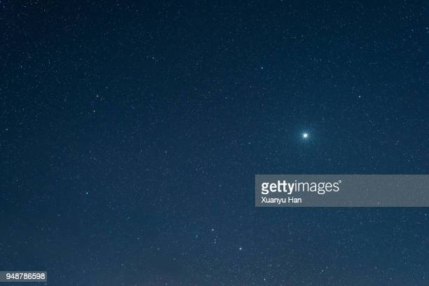 star sky - star shape stock pictures, royalty-free photos & images