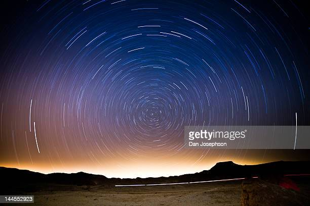 star trails - long exposure stock pictures, royalty-free photos & images