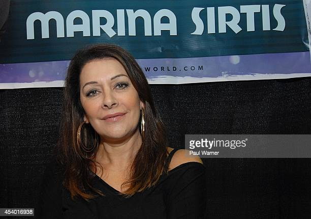 Star Trek actor Marina Sirtis attends Wizard World Chicago Comic Con 2014 at Donald E. Stephens Convention Center on August 22, 2014 in Chicago,...