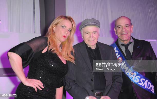 Star Trek Actors Chase Masterson Walter Koenig and Robert Picardo attend Yuri's Night LA held on April 8 2017 in Los Angeles California