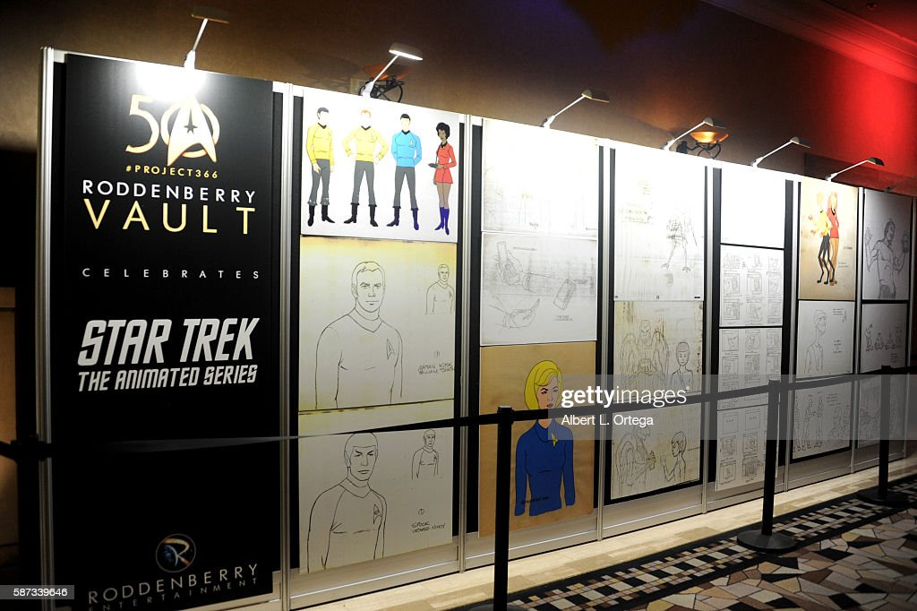 Star Trek Archive on display from Roddenberry Vault on day 5 of