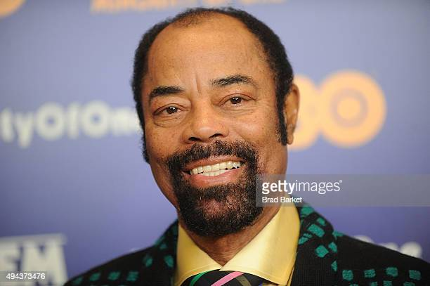 "Star Walt Frazier attends the ""Kareem: Minority Of One"" New York Premiere at Time Warner Center on October 26, 2015 in New York City."