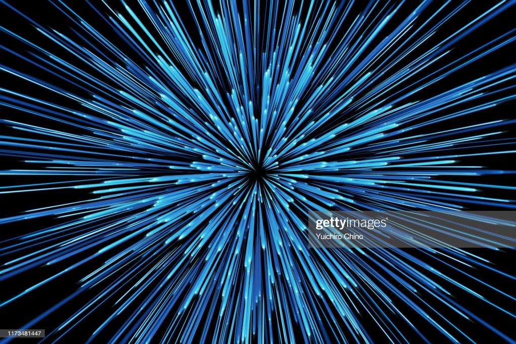 Star warp : Foto stock