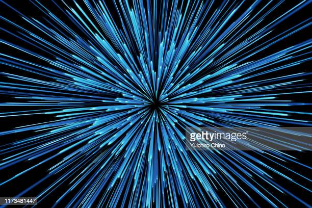 star warp - futuristic stock pictures, royalty-free photos & images