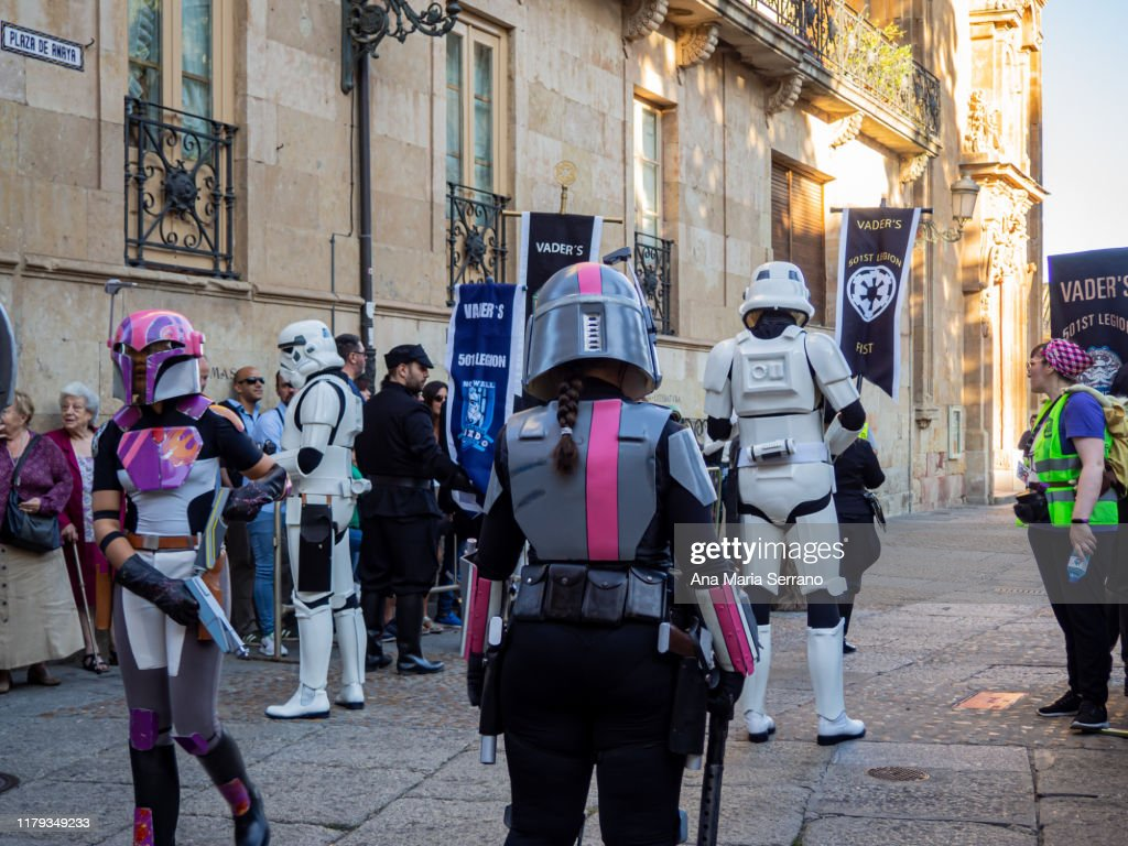 Star Wars 501st Legion Parade On The 11th Training Day High Res Stock Photo Getty Images