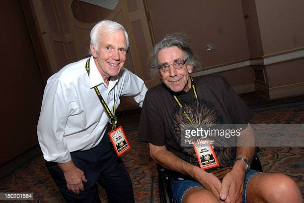 Star Wars actors Jeremy Bulloch and Peter Mayhew attend Wizard World Chicago Comic Con 2012 at Donald E Stephens Convention Center on August 11 2012...