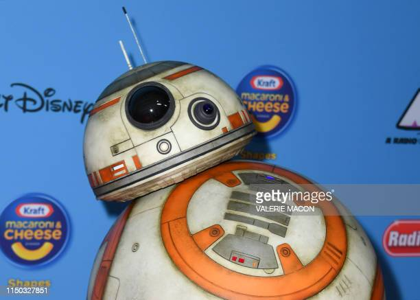 Star Wars astromech droid BB-8 arrives for the 2019 ARDYs at the CBS Radford Studios on June 16, 2019 in Studio City, California.